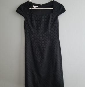 Cap Sleeve Black Dress